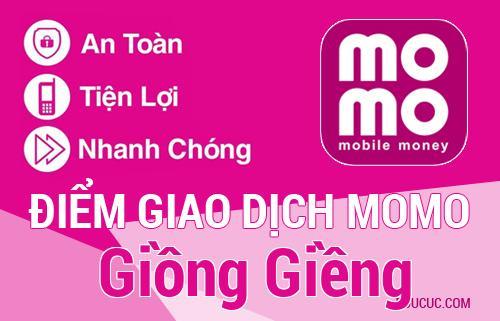 Điểm giao dịch MoMo Huyện Giồng Giềng, Kiên Giang