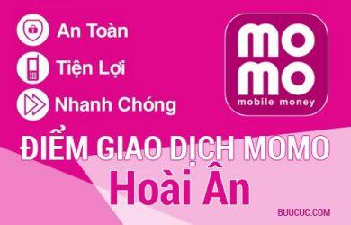 Điểm giao dịch MoMo Huyện Hoài Ân, Bình Ðịnh