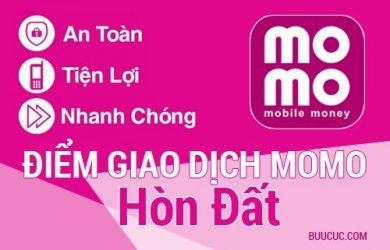 Điểm giao dịch MoMo Huyện Hòn Đất, Kiên Giang