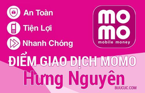 Điểm giao dịch MoMo Huyện Hưng Nguyên, Nghệ An