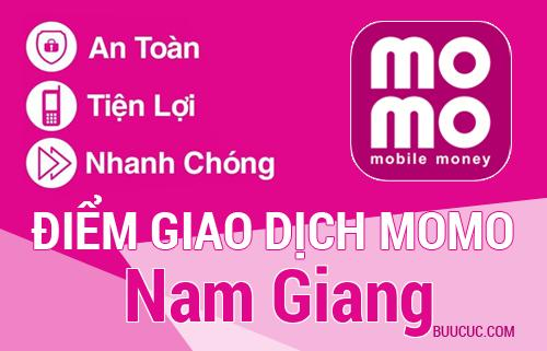 Điểm giao dịch MoMo Huyện Nam Giang, Quảng Nam