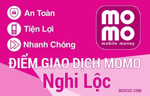 Điểm giao dịch MoMo Huyện Nghi Lộc, Nghệ An