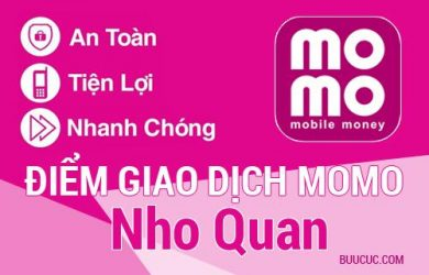 Điểm giao dịch MoMo Huyện Nho Quan, Ninh Bình