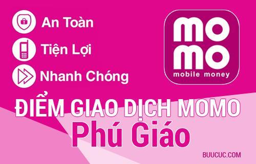 Điểm giao dịch MoMo Huyện Phú Giáo, Bình Dương