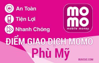 Điểm giao dịch MoMo Huyện Phù Mỹ, Bình Ðịnh