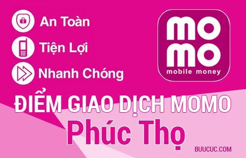 Điểm giao dịch MoMo Huyện Phúc Thọ, Hà Nội