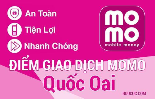 Điểm giao dịch MoMo Huyện Quốc Oai, Hà Nội