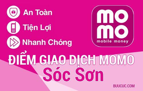 Điểm giao dịch MoMo Huyện Sóc Sơn, Hà Nội