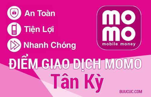 Điểm giao dịch MoMo Huyện Tân Kỳ, Nghệ An