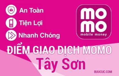 Điểm giao dịch MoMo Huyện Tây Sơn, Bình Ðịnh