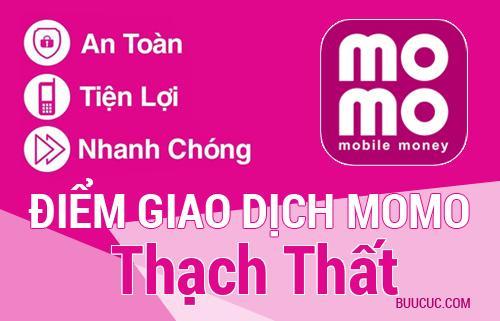 Điểm giao dịch MoMo Huyện Thạch Thất, Hà Nội