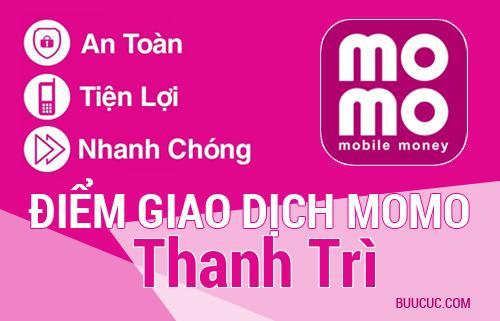 Điểm giao dịch MoMo Huyện Thanh Trì, Hà Nội