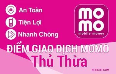 Điểm giao dịch MoMo Huyện Thủ Thừa, Long An
