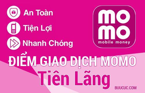 Điểm giao dịch MoMo Huyện Tiên Lãng, Hải Phòng