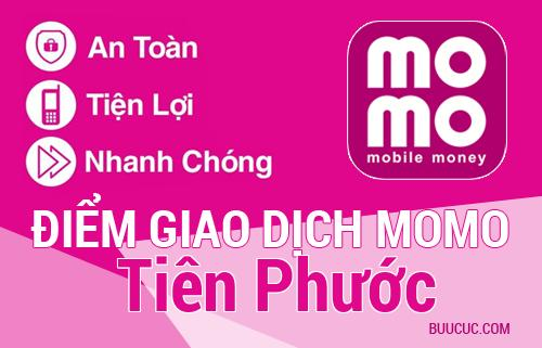 Điểm giao dịch MoMo Huyện Tiên Phước, Quảng Nam