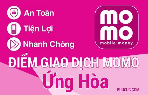 Điểm giao dịch MoMo Huyện Ứng Hòa, Hà Nội
