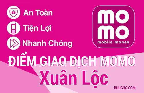 Điểm giao dịch MoMo Huyện Xuân Lộc, Ðồng Nai