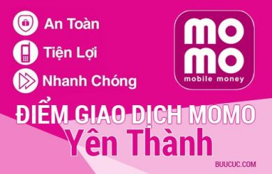 Điểm giao dịch MoMo Huyện Yên Thành, Nghệ An
