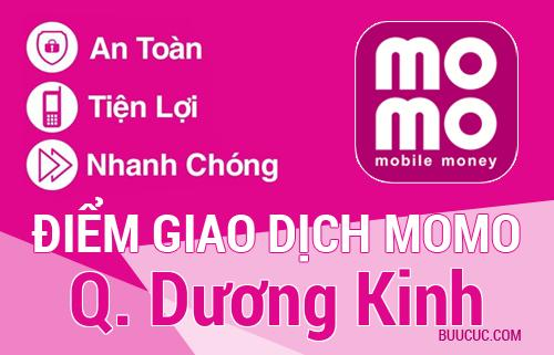 Điểm giao dịch MoMo Q. Dương Kinh, Hải Phòng