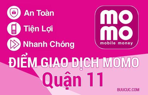 Điểm giao dịch MoMo Quận 11, Hồ Chí Minh