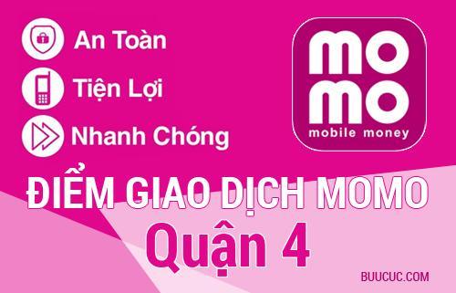Điểm giao dịch MoMo Quận 4, Hồ Chí Minh