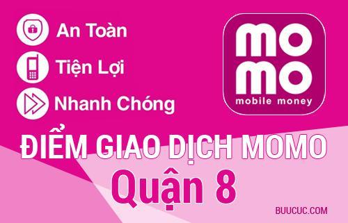Điểm giao dịch MoMo Quận 8, Hồ Chí Minh