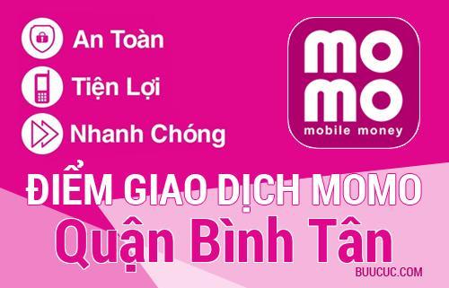 Điểm giao dịch MoMo Quận Bình Tân, Hồ Chí Minh