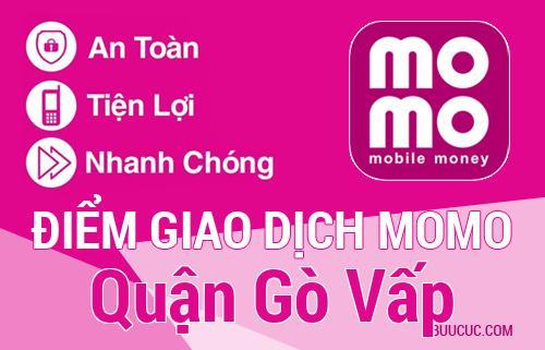 Điểm giao dịch MoMo Quận Gò Vấp, Hồ Chí Minh