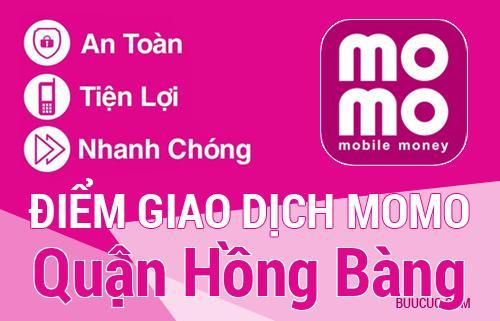 Điểm giao dịch MoMo Quận Hồng Bàng, Hải Phòng