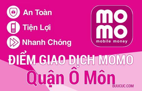Điểm giao dịch MoMo Quận Ô Môn, Cần Thơ