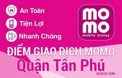Điểm giao dịch MoMo Quận Tân Phú, Hồ Chí Minh