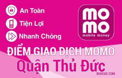 Điểm giao dịch MoMo Quận Thủ Đức, Hồ Chí Minh