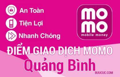 Điểm giao dịch MoMo Quảng Bình