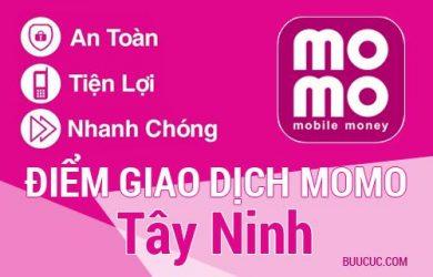 Điểm giao dịch MoMo Tây Ninh
