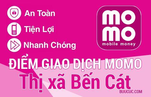 Điểm giao dịch MoMo Thị xã Bến Cát, Bình Dương