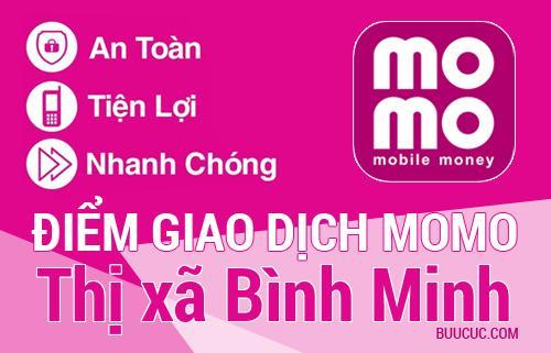 Điểm giao dịch MoMo Thị xã Bình Minh, Vĩnh Long