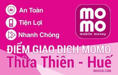 Điểm giao dịch MoMo Thừa Thiên – Huế