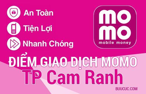 Điểm giao dịch MoMo TP Cam Ranh, Khánh Hoà