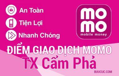 Điểm giao dịch MoMo TX Cẩm Phả, Quảng Ninh