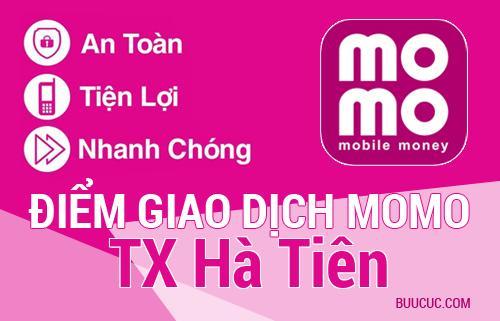 Điểm giao dịch MoMo TX Hà Tiên, Kiên Giang