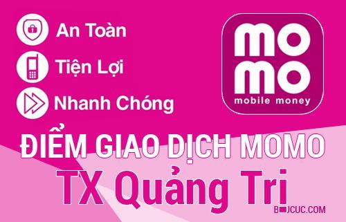 Điểm giao dịch MoMo TX Quảng Trị, Quảng Trị