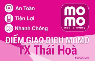 Điểm giao dịch MoMo TX Thái Hoà, Nghệ An