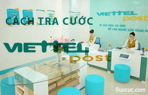 Cách tra cước Viettel Post đơn giản, tính phí ship tự động