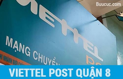 Chuyển phát nhanh Viettel Post Quận 8