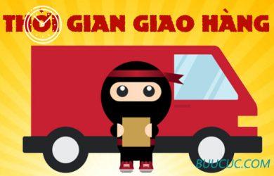 Thời gian giao hàng của Ninja Van?