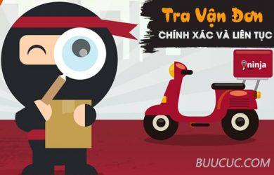 Cách tra cứu vận đơn Ninja Van